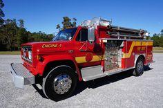 1989 GMC Top Kick 7000 Fire Apparatus