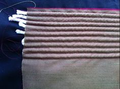 How to make a corset with cording