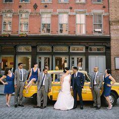 B&G and the Crew. #nancyandtony #blushingbride #handsomegroom #ontheirweddingday #weddingwednesday #ollistudio #nycweddingphotography #nycweddings #awardwinning #photojournalistic