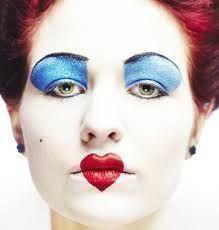 maquillage halloween dame de coeur