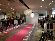 Active lighting sets the mood for a fabulous in-store runway event for one of our Fashion Clients Fashion Events, Atlanta, Runway, Audio, Mood, Lighting, Store, Home Decor, Cat Walk