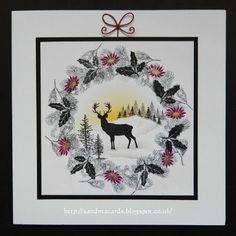 Sandma's Handmade Cards: Rudolph Day - February 16
