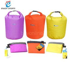3fe9cd6f49 New Portable 20L 40L 70L Waterproof Bag Storage Dry Bag for Canoe Kayak  Rafting Sports Outdoor