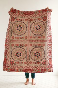 Plum & Bow Midland Kantha Blanket - Urban Outfitters