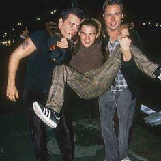 Johnny Depp, Leonardo DiCaprio and Brad Pitt. Johnny Depp, Leonardo DiCaprio and Brad Pitt. Johnny Depp, Leonardo DiCaprio and Brad Pitt.