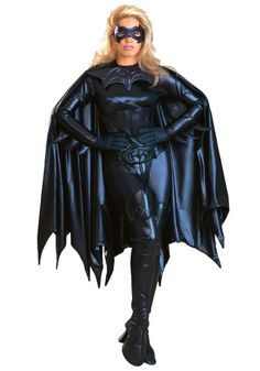 "I love that this is called ""Adult Authentic Batgirl Costume"" HAHAHA"