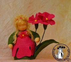 Primel Blumenkinderwerkstatt - Blumenkinder für den Jahreszeitentisch
