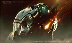 Guardians of the Galaxy Vol.2 Concept Art, George Hull on ArtStation at https://www.artstation.com/artwork/3zGVE