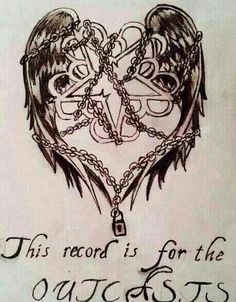 This recorcord is for the outcasts, following a story of love,life and never giving in we are the black veil brides