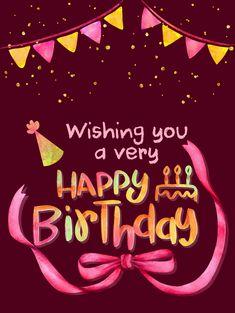 Happy Birthday Emoji, Happy Birthday Wishes Photos, Happy Birthday Woman, Birthday Wishes Flowers, Birthday Card Messages, Birthday Congratulations, Happy Birthday Wishes Cards, Birthday Card Sayings, Birthday Images