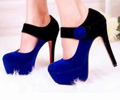 Increibles zapatos de tacón alto para fiesta : Moda en Zapatos
