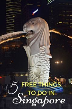 Seeing the Merlion i
