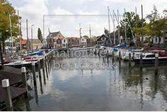 Stockfoto: De jachthaven van Middelharnis