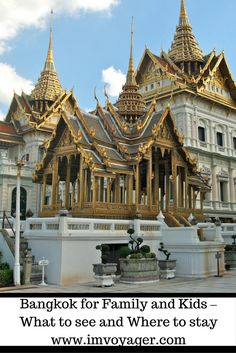 The attractions of Bangkok are varied. Here is a quick guide to what to see and where to stay in Bangkok for family and kids. Vietnam Travel, Asia Travel, Wanderlust Travel, Travel With Kids, Family Travel, Family Trips, Family Life, Bilbao, Bangkok Hotel