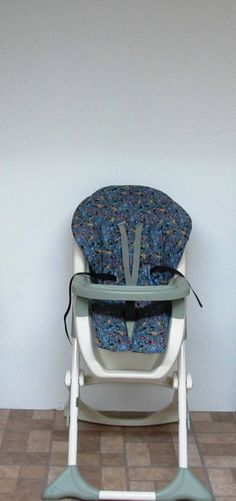Graco high chair cover, chair cushion, kids and baby feeding chair, baby accessory, chair pad replacement, nursery, child care, motorcycles by sewingsilly on Etsy