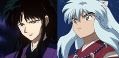 Naraku and InuYasha