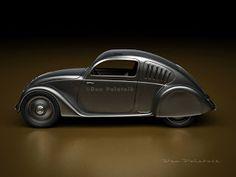 A Garagem Digital de Dan Palatnik | The Digital Garage Project: Pre-Beetle: 1934 Mercedes-Benz W 130