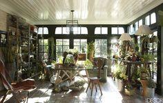 Beverly Hills Sunroom - ELLEDecor.com