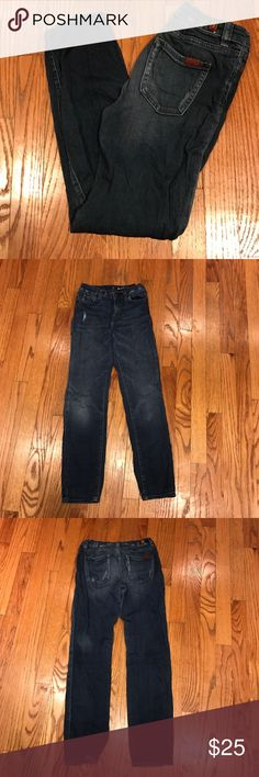 7 for all mankind 12 the skinny stretch jeans 7 for all mankind 12 the skinny stretch jeans in good gently worn clean condition. These are light weight stretchy jeans. No trades 7 For All Mankind Bottoms Casual
