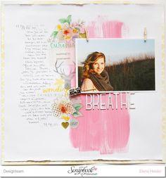 Add Glitter And Love: Scrapbook Layout #12