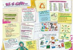 Reglas en clase y frases para comunicar en clase (ficha)