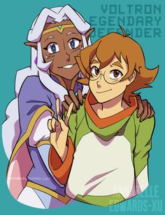 Voltron Legendary Defender - Allura and Pidge by annabubs on ...
