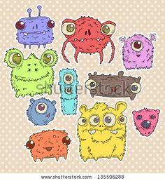 Monster Stock Foto 211869604 : Shutterstock
