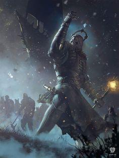 Stunning Concept Art From The Video Game The Witcher 3 By CD Projekt Red