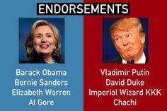 Funniest Political Memes of the Week: Endorsements