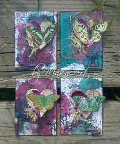"My ATC Set ""Piece of nature""  My journey through the Scrapbookworld...: *Piece Of Nature...*"