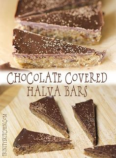 Halva chocolate by Trinity. I can just see my fam and buddies enjoying these:)