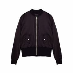6156be5641e Zara Satin Bomber Jacket Condition  Excellent - Worn Once - Depop