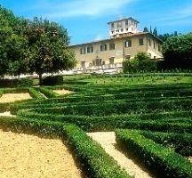 Italian Villas: Villa Medicea della Petraia, Toscana, Italy