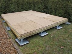 All Garden Buildings need to be built on a flat, level base. We devised our own…