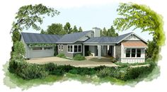 hybridCore Homes #singlefamilyhomes #design #architect #home #novato
