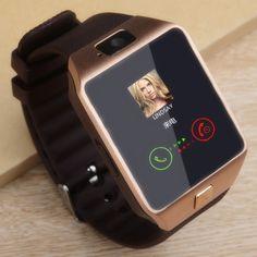 Men Women Bluetooth Smart Watch Smartwatch Fitness Tracker Passometer SIM Card Camera for iPhone xiaomi huawei PK - Nice Trend Store Electronics Projects, Electronics Gadgets, Bluetooth, Fitness Tracker, Samsung, Cool Watches, Watches For Men, Sport Watches, Mvmt Watches