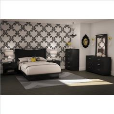South Shore Furniture Basic Collection Full Platform « MyStoreHome.com – Stay At Home and Shop