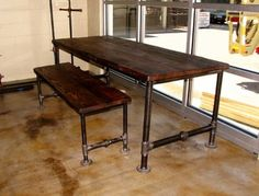 Rustic Elements Furniture traditional dining tables