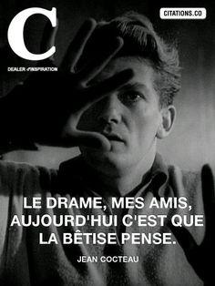 Jean Cocteau - 27 Citations et 1 Texte