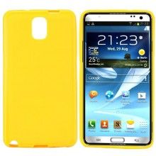 Housse Galaxy Note 3 - Gel Jaune  5,99 €