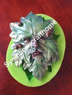 leaf face man silicone mold Avatar face mold silicone mold