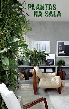 vertical garden in the living room #decor #garden