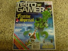 Retro Gamer Magazine Festive Special Dragon Quest Froger Issue 97 Christmas