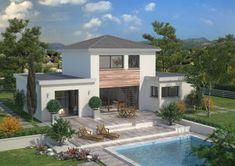 Modèle et plan de maison : Design - 134.60 m²