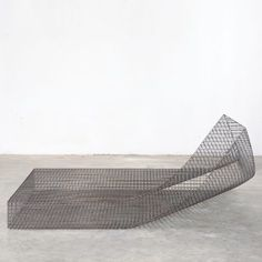 Wire by Muller van Severen is one of James Mair's top five minimalist furniture choices Minimalist Furniture, Minimalist Home Decor, Minimalist Wardrobe, Minimalist Living, Minimalist Design, Abstract Canvas Wall Art, London Design Festival, Black Decor, Decorating On A Budget