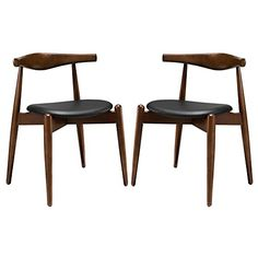 Dining Side Chairs Set of 2 Dimensions: 19