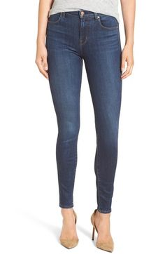J Brand 'Maria' High Rise Skinny Jeans (Fleeting) available at #Nordstrom