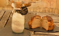 Zwiebel Kürbis Brot als Backmischung im Glas