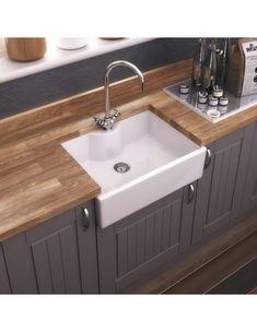 Villeroy & Boch Butler 90 Ceramic Belfast Double Sink, Ceramic Plus white Sink Accessories Available Ceramic Kitchen Sinks, Farmhouse Sink Kitchen, Kitchen Taps, New Kitchen, Kitchen Reno, Butler Sink Kitchen, Belfast Sink Kitchen, White Kitchen Sink, Awesome Kitchen