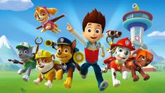 PAW Patrol, PAW Patrol, we'll be there on the double! You and your child can listen and sing along to the PAW Patrol theme song and join Ryder, Marshall, Rub. Paw Patrol Rocky, Los Paw Patrol, Paw Patrol Pups, Puppy Patrol, Nick Jr, Personajes Paw Patrol, Imprimibles Paw Patrol, Paw Patrol Party Supplies, Cumple Paw Patrol
